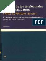 Altamirano, Carlos_Historia de los intelectuales de América latina Vol.I y II