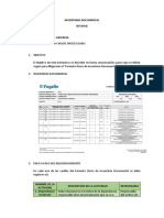 INVENTARIO DOCUMENTAL (informe)