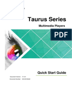 Taurus-Series-Multimedia-Players-Quick-Start-Guide-V1.4.0