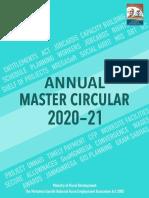 Annual Master Circular MGNREGA 2020-21 English