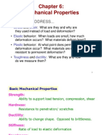 Material Sciences - 4a.mechanical properties