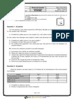 Devoir de Contrôle N°2 Lycée pilote  1er Semestre - Économie - 2ème Economie & Services (2018-2019) Mr Kamel Ajour