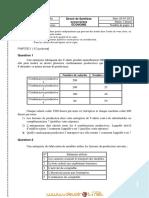 Devoir de Synthèse N°4 - Économie - 2ème Economie & Services (2011-2012) Mr Kamel Ajour