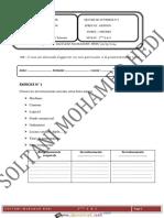Devoir de Synthèse N°3 - Gestion - 2ème Economie & Services (2013-2014) Mr SOLTANI MOHAMED HEDI