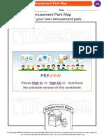 Amusment Park Map