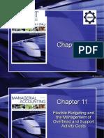 CHAPTER - 11 - Flexible Budgeting -  UET
