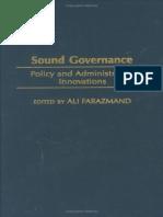 Sound Governance--Policy & Administrative Innovations-----Ali Farazmand----2004 (1).pdf