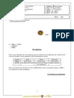 Devoir de Contrôle N°1 - Informatique - 3ème Economie  Gestion (2010-2011) Mlle Riahi Imene 2