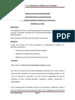 INFORME DE LECTURA-HISTORIA DE LA EDUCACIÓN ARGENTINA