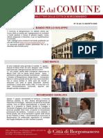 Notizie Dal Comune di Borgomanero del 13-08-2020