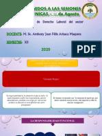 SESION 12 - RESPONSABILIDAD DEL SERVIDOR PÚBLICO