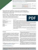 Topical lidocaine-prilocaine cream versus rectal meloxicam