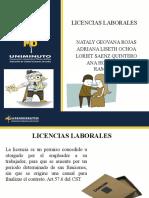 licencia  legislacion laboral.pptx
