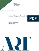 ART - Rapporto 2020