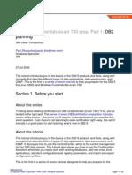 db2-cert7301-a4 - Planning