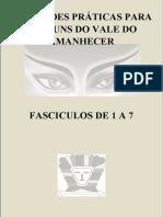 INSTRUÇÕES PRÁTICAS PARA OS MÉDIUNS FASCÍCULOS DE 01 A 07