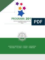 Programa 2011 CEI