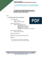 ESTUDIO DE CANTERA, BOTADERO Y FUENTE DE AGUA