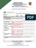 RUBRICA DE AUTOEVALUACION Y COEVALUACIÓN