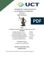 ACTIVIDAD 1,2,3, Derecho Constitucional