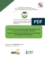 Recherche sur l'entomologie
