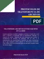 PROTOCOLOS DE TRANSFERENCIA DE ARCHIVOS