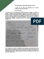 TALLER REPASO BIOQUÍMICA TEMAS DE SEGUNDO CORTE