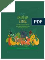 Amazônia à Mesa - Receitas com produtos da sociobiodiversidade para a alimentação escolar