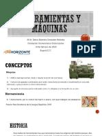 HERRAMIENTAS Y MÁQUINAS