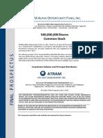 FINAL PROSPECTUS - ATRAM Alpha Opportunity Fund (UPDATED June 4, 2018)