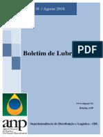 Boletim de Lubrificantes - agosto 2018