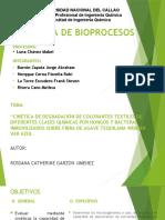"""""""CINÉTICA DE DEGRADACIÓN DE COLORANTES TEXTILES (1).pptx"""