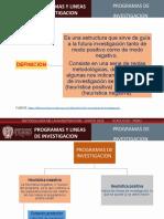PROYECTO - AYNI  PRAGRAMAS DE INVESTIGACION