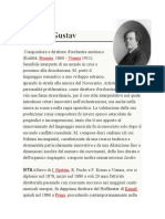 1860-1911 Mahler, Gustav