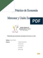 Economia Mercosur y Union Europea.