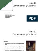 Tema 12. Cerramientos y cubiertas