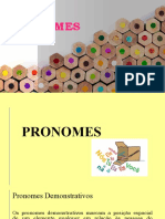 pronomes - Língua portuguesa