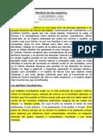 MENTIRAS DE MIS MAESTROS. ENSAYO DE LUIS GONZÁLEZ DE ALBA. REVISTA NEXOS.