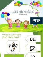 SONIDO INICIAL SILÁBICO.ppsx