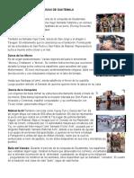 BAILES Y DANZAS  FOLKLORICAS DE GUATEMALA