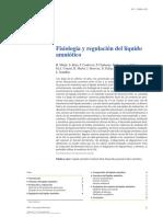 Fisiología y regulación del líquido amniótico