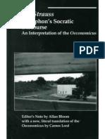Leo Strauss - Xenophon's Socratic Discourse_ An Intepretation of the Oeconomicus  -St. Augustine's Press (1998).pdf