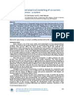 Fundamental and empirical modelling of co-current spray drying process-a review