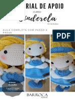 Boneca Cinderela Barroca Atelie