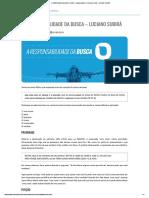A RESPONSABILIDADE DA BUSCA - Luciano Subirá - ORVALHO.COM - LUCIANO SUBIRÁ