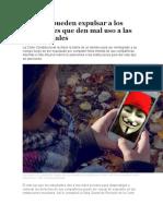 Colegios pueden expulsar a los estudiantes que den mal uso a las redes sociales