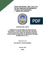Sistema HACCP de la papa procesada