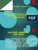 TEMA Nº 2 NORMAS INTERNACIONALES PARA DESARROLLO DE A.A