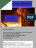 Carga termica - Estres Termico