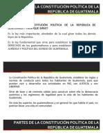 Valores de la Constitución Política de la República de Guatemala
